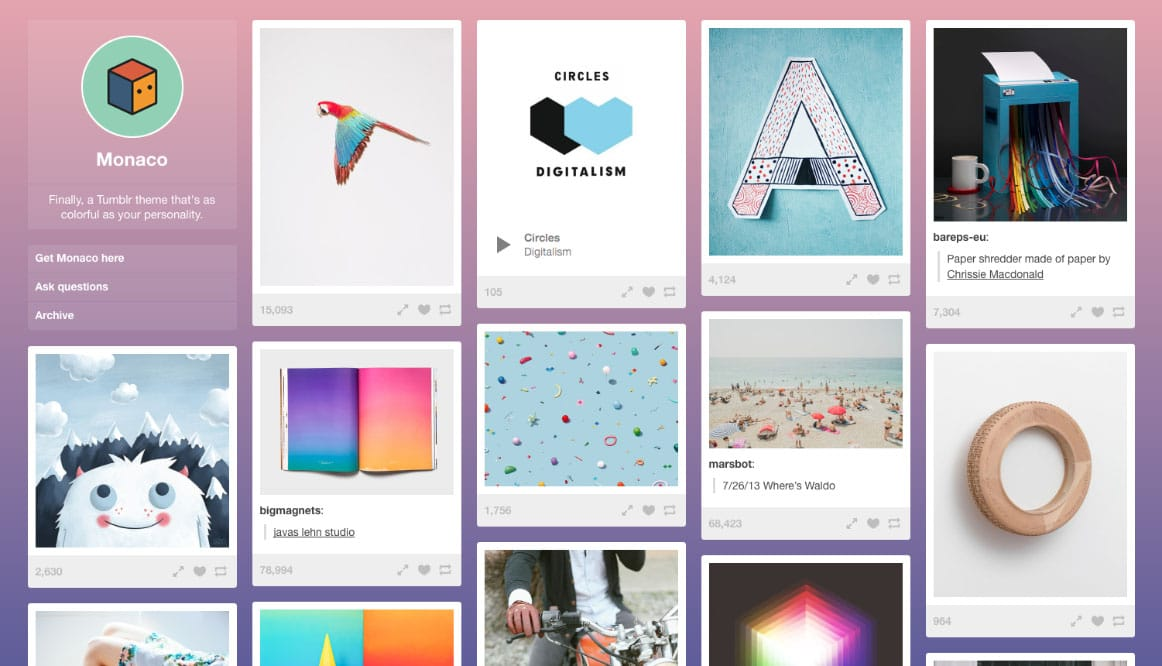 Want to improve your Tumblr blogging experience with a new theme Here are 40 beautiful and free Tumblr themes worth checking out